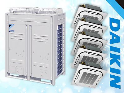 Daikin Air Conditioning 55Kw System Office Industrial Commercial Shop Split Used