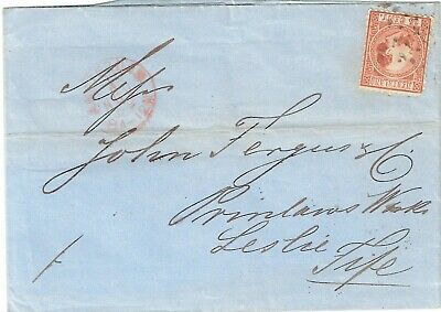 NETHERLANDS WIII 15 Cents Cover 1869