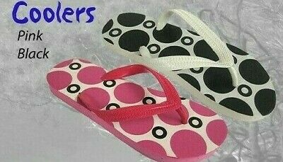 Wholesale Job Lot of 24 Pairs of Coolers  Ladies Flip Flops BRAND NEW  POST FREE