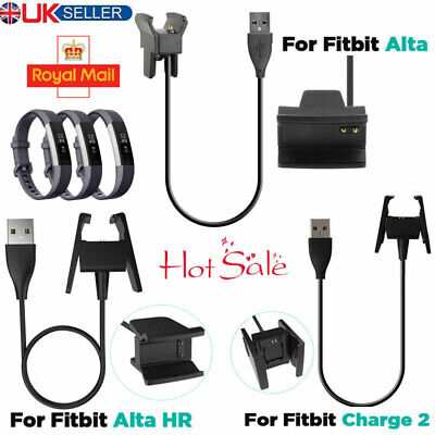 USB Charger Charging Cable for Fitbit Alta HR Wristband Activity Tracker Fitness