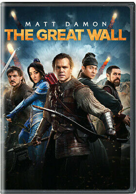 The Great Wall (DVD, 2017) BRAND NEW/SEALED
