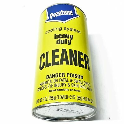 Prestone Cooling System Cleaner AS-100/B [Lot of 12] NOS
