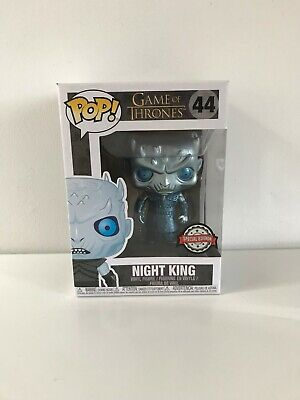 Funko Pop Game of thrones - Night King Metallic - Exclusive Special Edition - 44