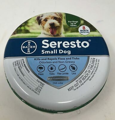 Bayer Animal Health Seresto Flea and Tick Collar for Small Dogs