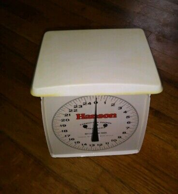 Antique Family Baby Nursery Scale Old Patina Works 30 Lbs VINTAGE ~ NICE