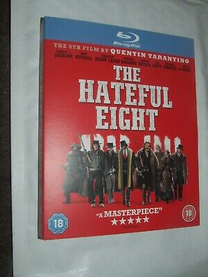 THE HATEFUL EIGHT Quentin Tarantino Samuel L. Jackson BLU RAY NEW & SEALED