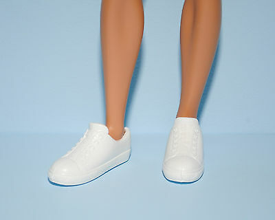 Low Top White Athletic Tennis Sport Shoes for KEN Genuine BARBIE