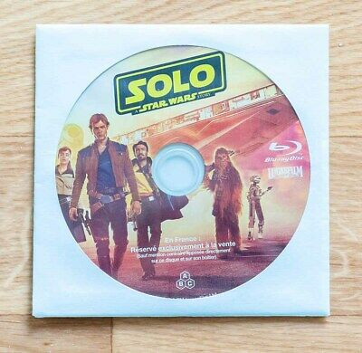 Blu Ray SOLO A STAR WARS STORY comme neuf