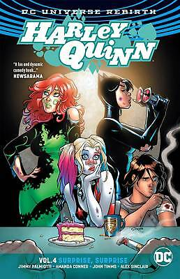 Harley Quinn Rebirth Volume 4: Surprise Surprise Softcover Graphic Novel