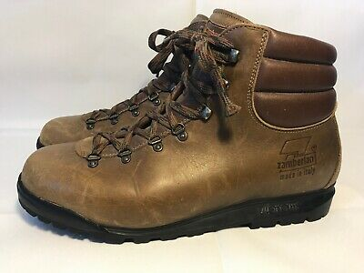 2800f8788d2 MENS SIZE 10 Zamberlan Vibram brown leather hiking boots - $75.00 ...