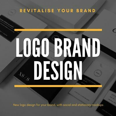 Professional Custom Brand Business Logo Design | Unlimited Revision | Vectors