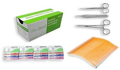 Practice Surgical Suture Kit Ideal for Medical and Veterinary Student Training
