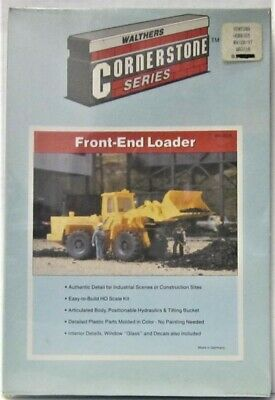 Walthers 933-3118 Front-End Loader Tractor kit HO Scale