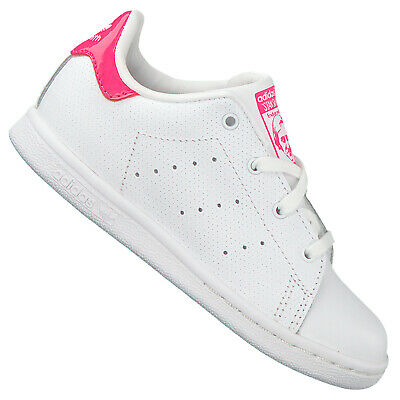 Détails sur Adidas Original Stan Smith Chaussures Enfants Baskets la Gazelle Rose Blanc
