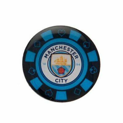 Manchester City F.C. Poker Chip Badge Gift
