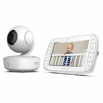"Motorola MBP36XL Video Baby Monitor Pan/Tilt/Zoom 5"" Color Screen with Portable"