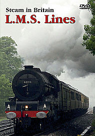 Steam In Britain - L.M.S. Lines [DVD], New, DVD, FREE & Fast Delivery