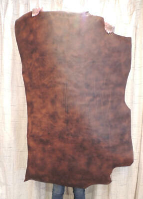 8-10 oz DISTRESSED BUFFALO Veg Tan Leather for Holsters Sheaths Journals Wallets