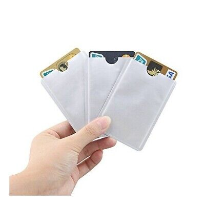 10x RFID Blocking Sleeve Credit Card Protector Bank Card Holder for Wallets AU