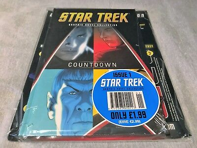 Star Trek: Countdown Eaglemoss / IDW Graphic Novel Collection - Issue 1 - New