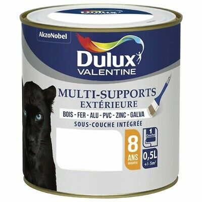 DULUX VALENTINE - Peinture multi-supports - 500 mL - blanc