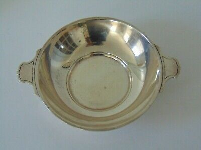 ANTIQUE TIFFANY & CO. SMALL STERLING SILVER BOWL with HANDLES