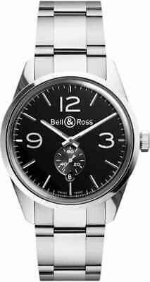 Bell and Ross Vintage Automatic Black Dial Stainless Steel Men's Watch
