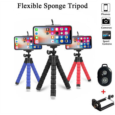 Mini Flexible Foam Tripod Octopus Stand For Cell Phone Camera Portable Travel