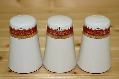 "Royal Scotland RZS10 Set of (3) Salt & Pepper Shakers, 3 1/2"", with Stoppers"