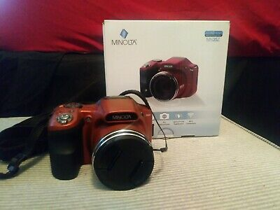 MINOLTA MN35Z-R RED 20MP 1080p Full HD Wi-Fi Digital Camera 3