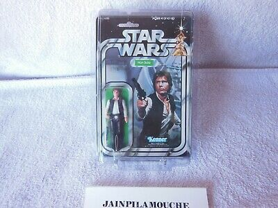 1979 Jouet Ancien Star Wars Vintage Han Solo Big Head Kenner 21 Back Mosc  3/4""