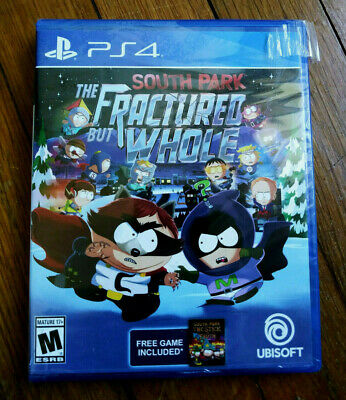 South Park: The Fractured but Whole w/ Free Game (Sony PlayStation 4, 2017) PS4