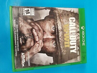 Call of Duty WWii for Xbox One