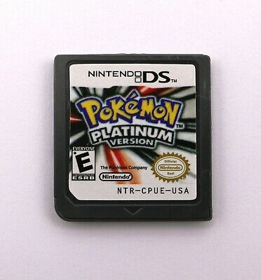 Pokemon:Platinum version (Nintendo DS,2009) Game Card for 3DS NDSI NDS NDSL