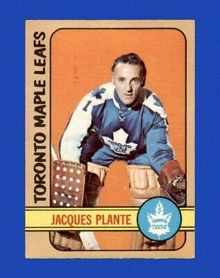 1972-73 O-Pee-Chee Set Break # 92 Jacques Plante EX-EXMINT *GMCARDS*
