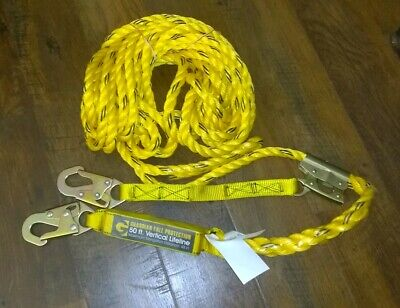 Guardian Fall Protection 50 ft. Vertical Life Line Assembly 01320-QC