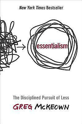 Essentialism: The Disciplined Pursuit of Less by Greg McKeown 🔥Hardcover🔥
