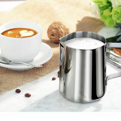 Barista Latte Pots Espresso Coffee Jug Pitcher Milk Frothing Stainless Steel