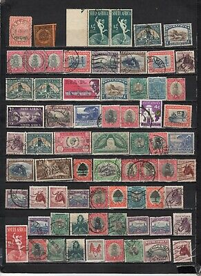 British Colonies - South Africa - GB  collections  Lot Of Early Used Stamps