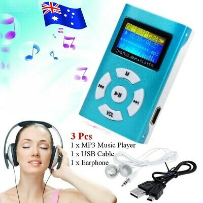 NEW Portable USB Digital MP3 Music Player LCD Screen Support 32GB