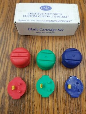 Creative Memories Custom Cutting System Blade Cartridge Set New