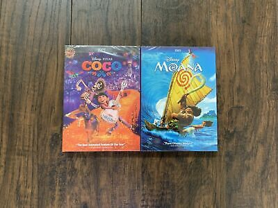 New MOANA And COCO 2dvd sets