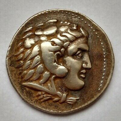 Silver Tetradrachm Alexander The Great III Life time 336-321 BC