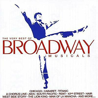 The Very Best of Broadway Musicals, Various Artists, Used; Good CD