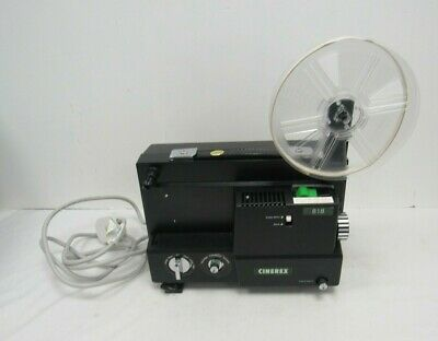 Cinerex 818 Dual Variable Speed Super 8 8mm Cine Movie Film Projector - WEL S10