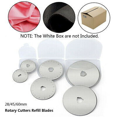 Cut Off Fabric Paper Circular Steel Home Sewing Tools Rotary Cutter Blades
