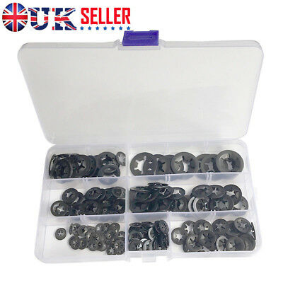 Starlock Push On Fasteners Internal Tooth Washers Clips 10X3,4,5,6/&8MM 50PCE