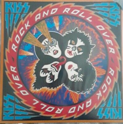 Kiss Rock And Roll Over Original LP Sealed Paul Stanley Gene Simmons