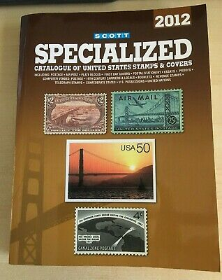 2012 Scott Used specialized Catalogue United states stamps & covers