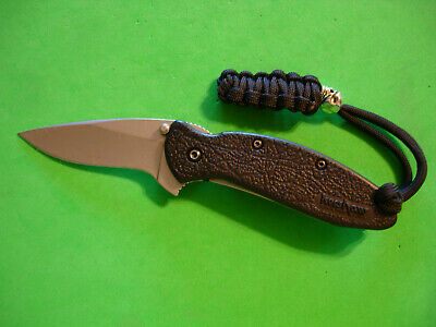 "Ntsa Kershaw Kai Usa ""Scallion"" 3 1/2"" Closed Liner Lock Pocket Knife #1620"